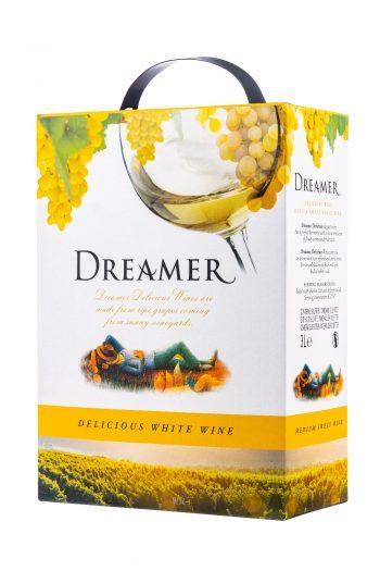 Dreamer Delicious White 300cl BIB