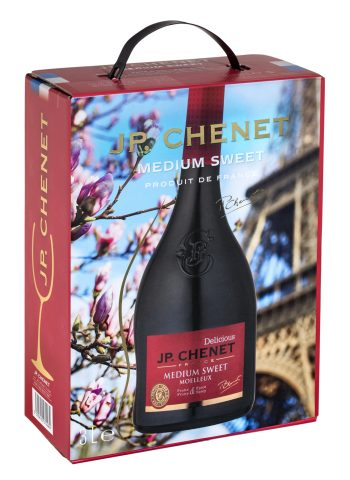 J.P.Chenet Medium Sweet Red 300cl BIB