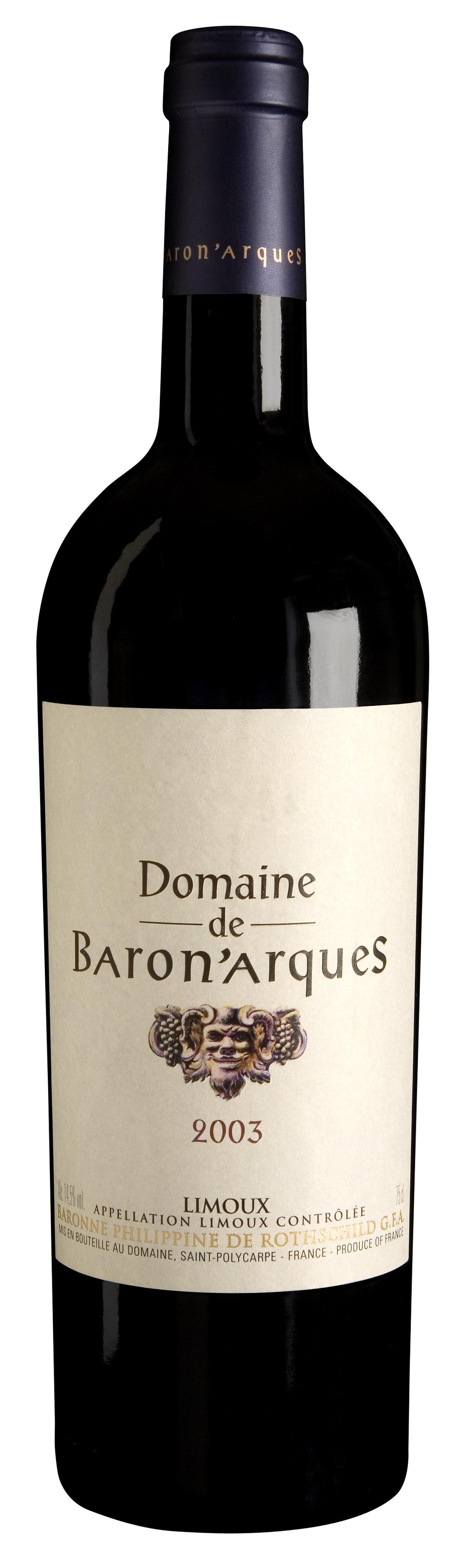 Rothschild Domaine de Baron 'Arques Limoux AC 75cl