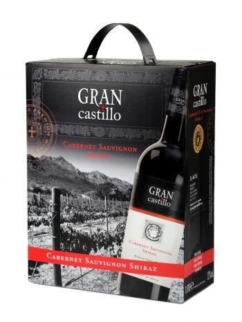 Gran Castillo Cabernet Sauvignon Shiraz 300cl BIB