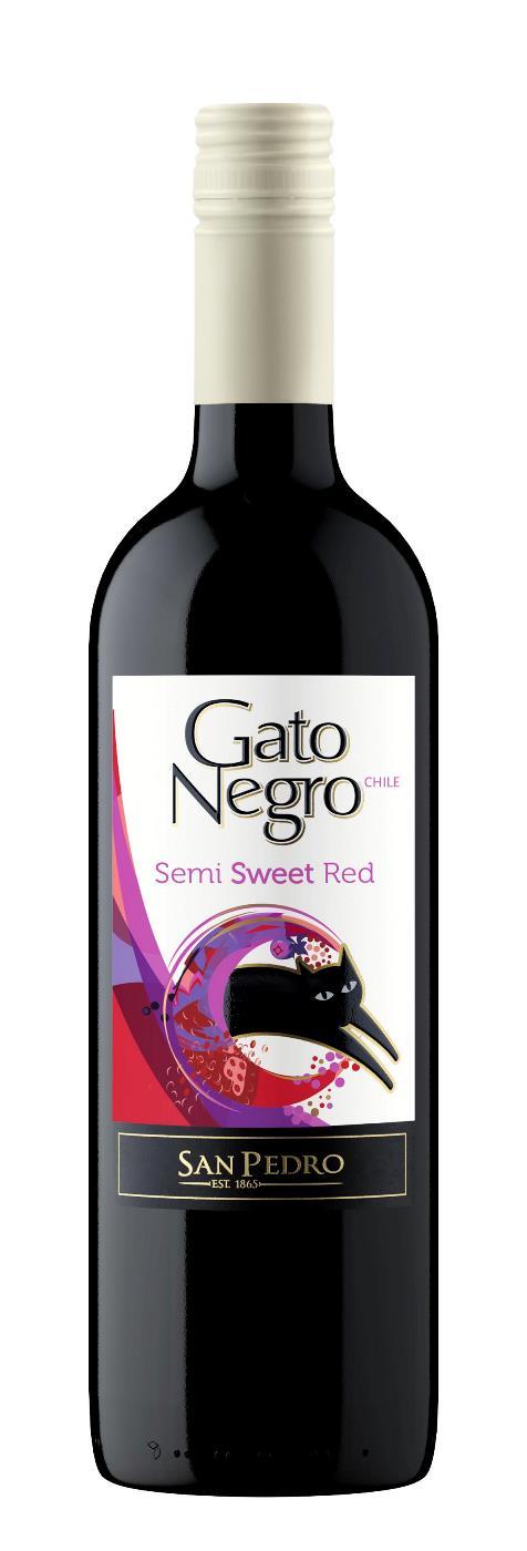 Gato Negro Medium Sweet Red 75cl