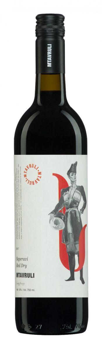Mtavruli Saperavi Red Dry 75cl