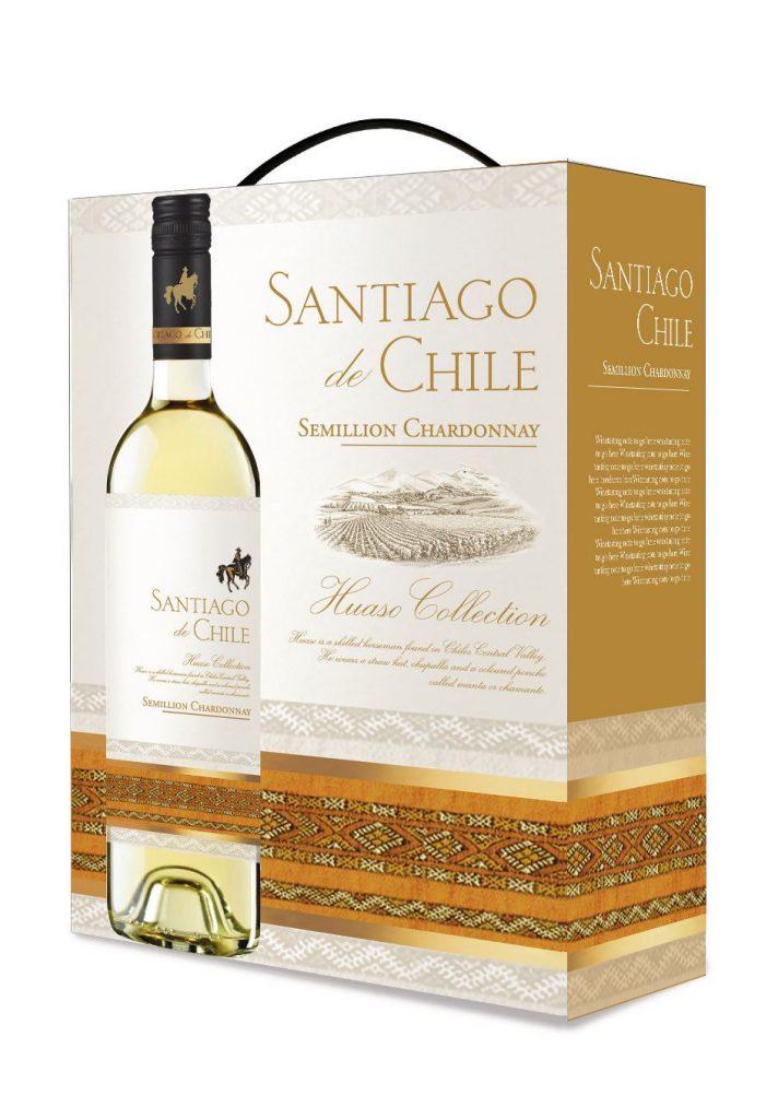 Santiago de Chile Chardonnay 300cl BIB