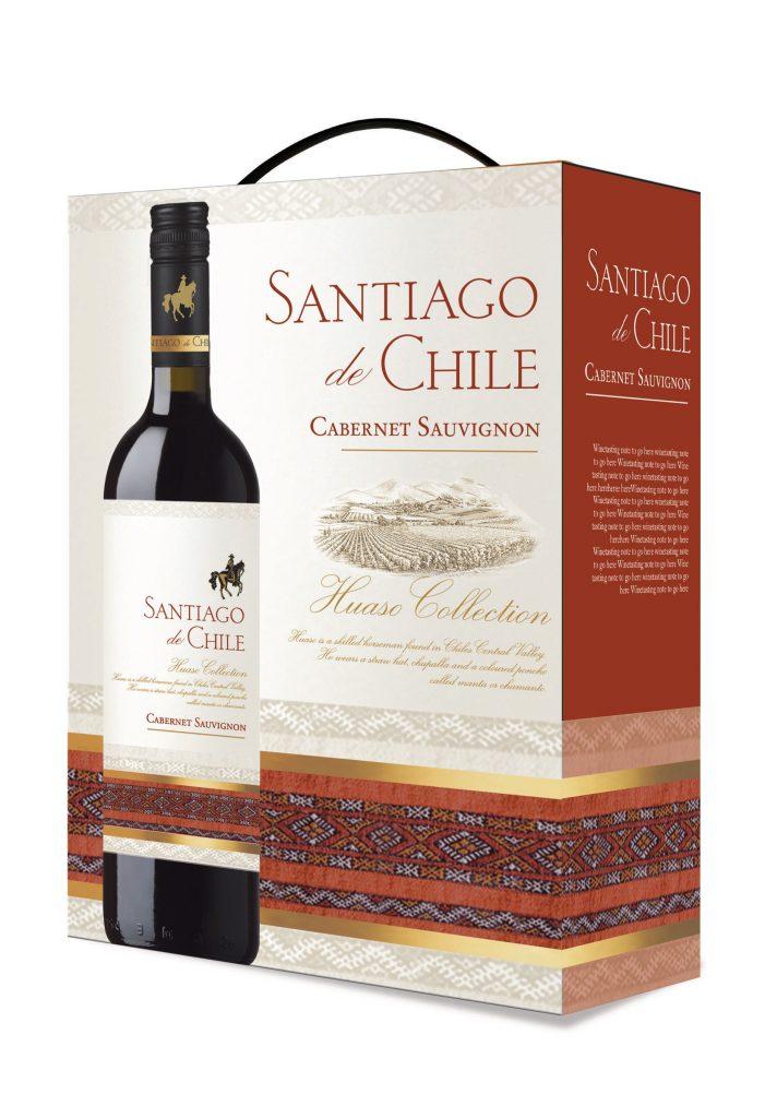 Santiago de Chile Cabernet Sauvignon 300cl BIB