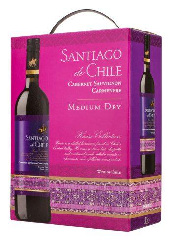 Santiago de Chile Cabernet-Carmenere 300cl BIB