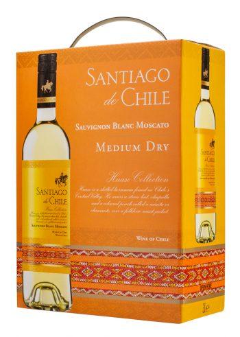 Santiago de Chile Sauvignon Blanc Moscato 300cl BIB