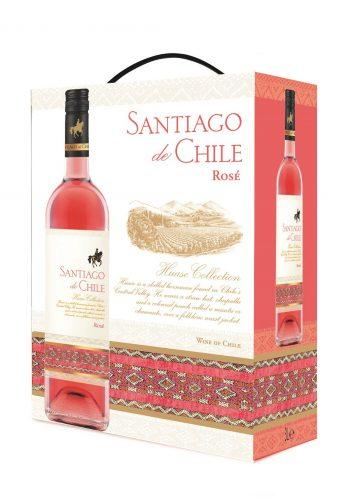 Santiago de Chile Syrah Rose 300cl BIB