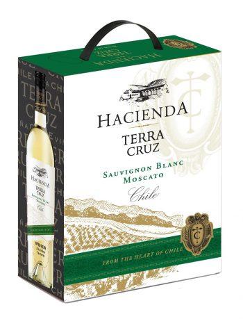 Terra Cruz Sauvignon Blanc Moscato BIB 300cl