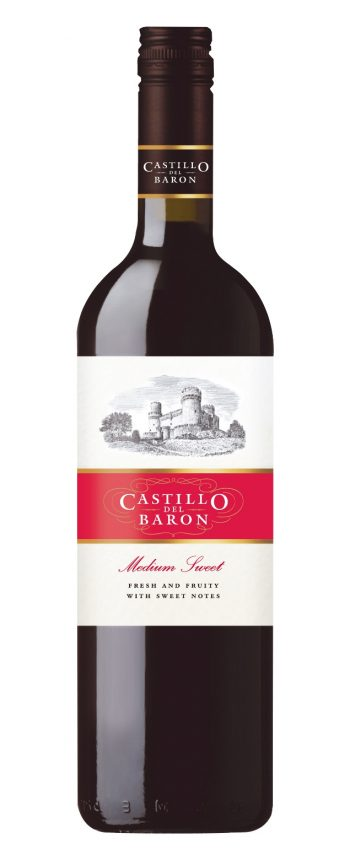 Castillo del Baron Medium Sweet Red 75cl
