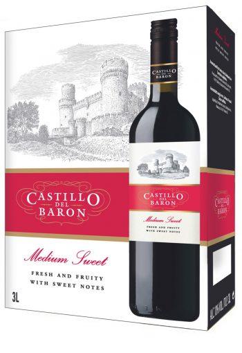 Castillo del Baron Medium Sweet Red 300cl BIB