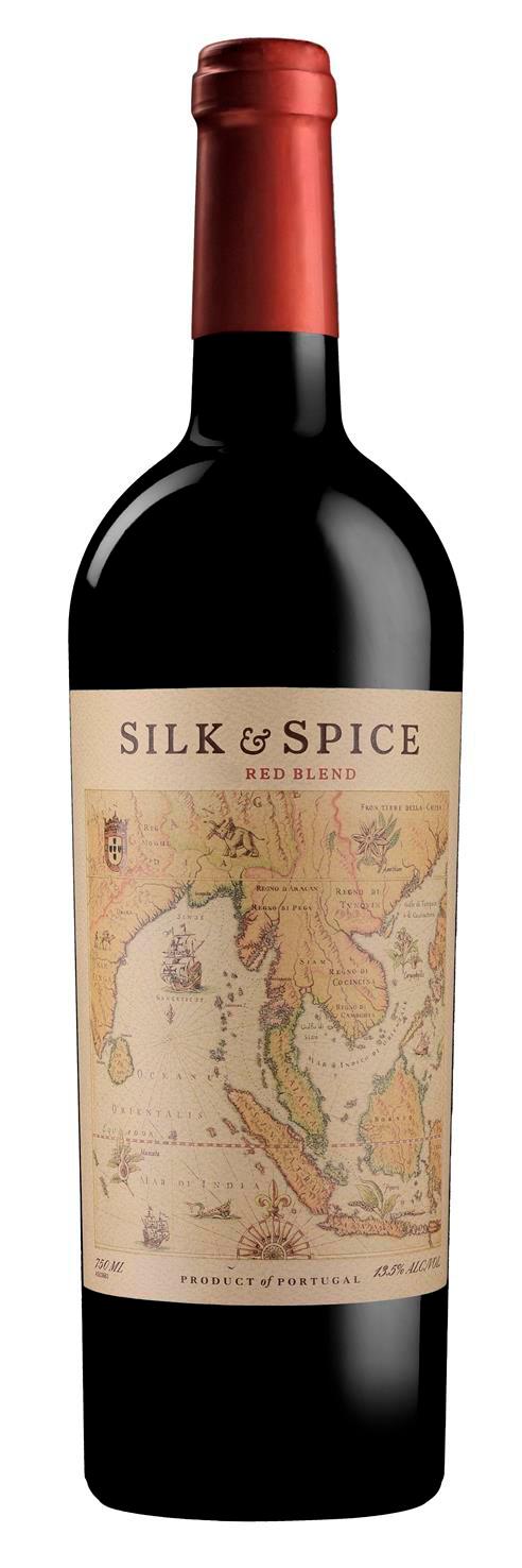 Silk&Spice Red Blend 75cl