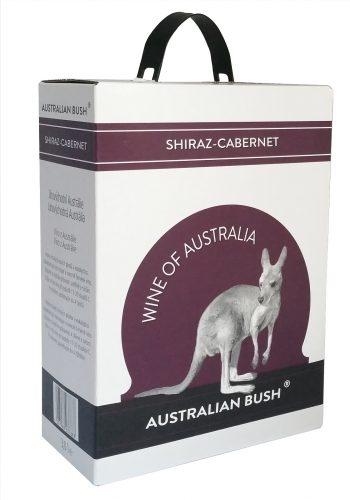 Australian Bush Shiraz Cabernet Sauvignon 300cl BIB
