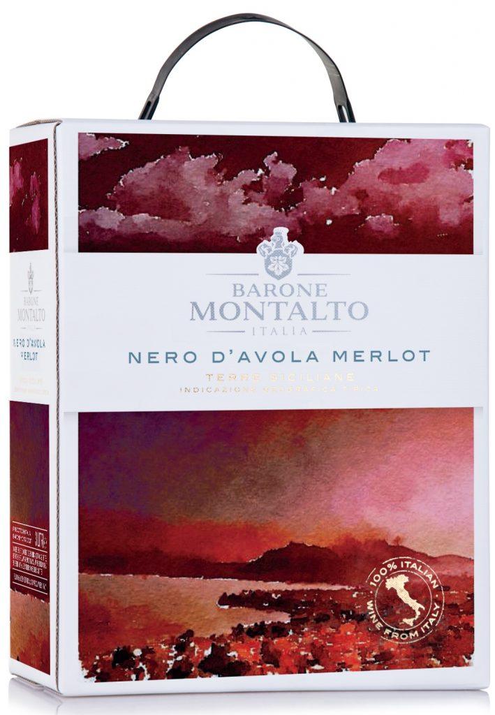 Barone Montalto Nero d'Avola 300cl BIB