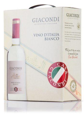 Giacondi Vino Bianco 300cl BIB