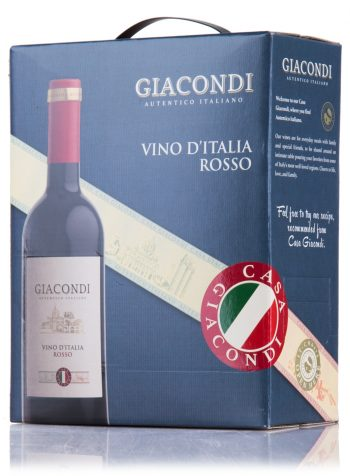 Giacondi Vino Rosso 300cl BIB