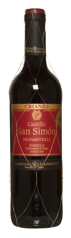 Castillo San Simon Crianza Monastrell 75cl