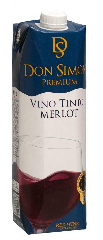 Don Simon Premium Merlot 100cl tetra