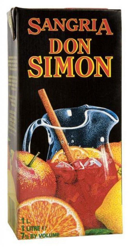 Don Simon Sangria 100cl tetra