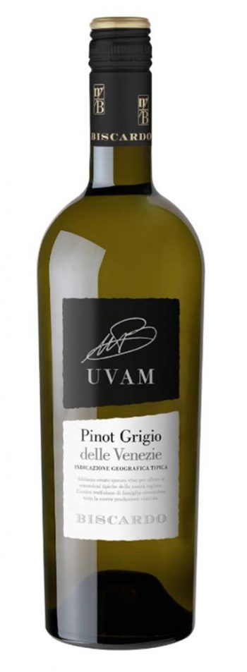Biscardo Uvam Pinot Grigio 75cl