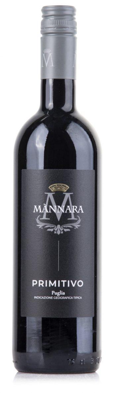 Mannara Puglia Primitivo 75cl