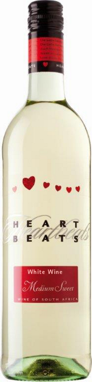 Heart Beats White Wine Medium Sweet 75cl
