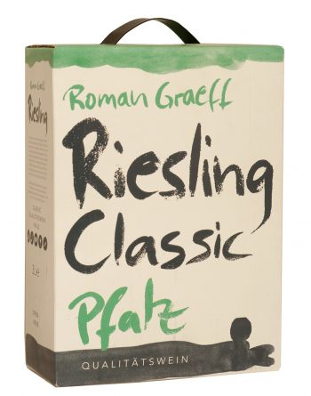 Roman Graeff Riesling Classic Pfalz 300cl BIB