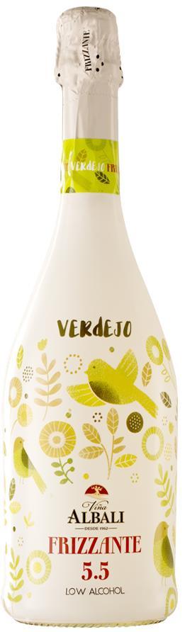 Vina Albali Verdejo Frizzante 5.5% 75cl