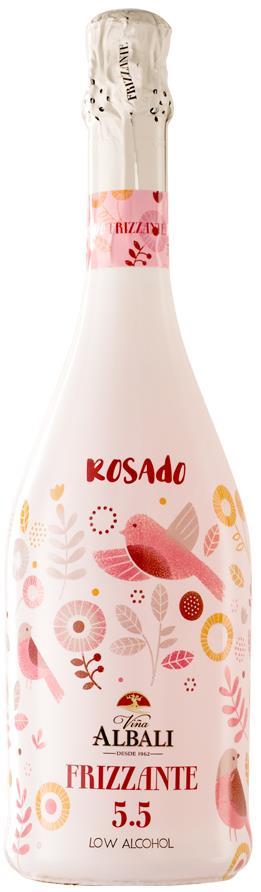Vina Albali Rosado Frizzante 5.5% 75cl