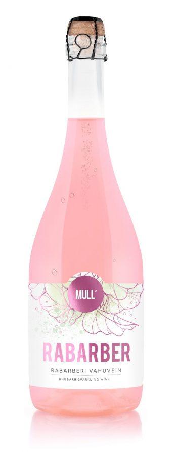MULL Rabarber Sparkling Wine 75cl