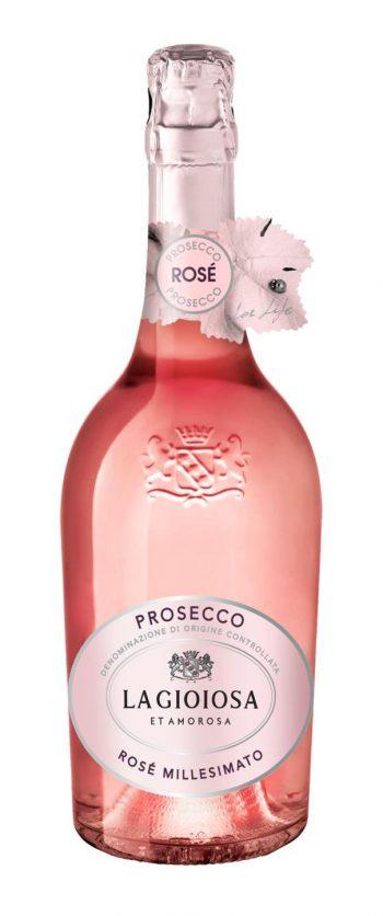 La Gioiosa Prosecco Rose Millesimato Brut 75cl