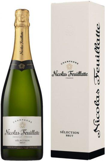 Nicolas Feuillatte Selection Brut Champagne 75cl giftbox