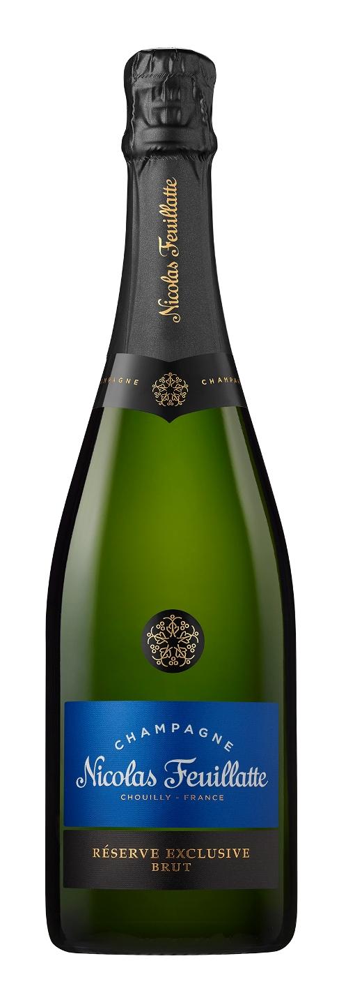 Nicolas Feuillatte Reserve Exclusive Brut Champagne 75cl