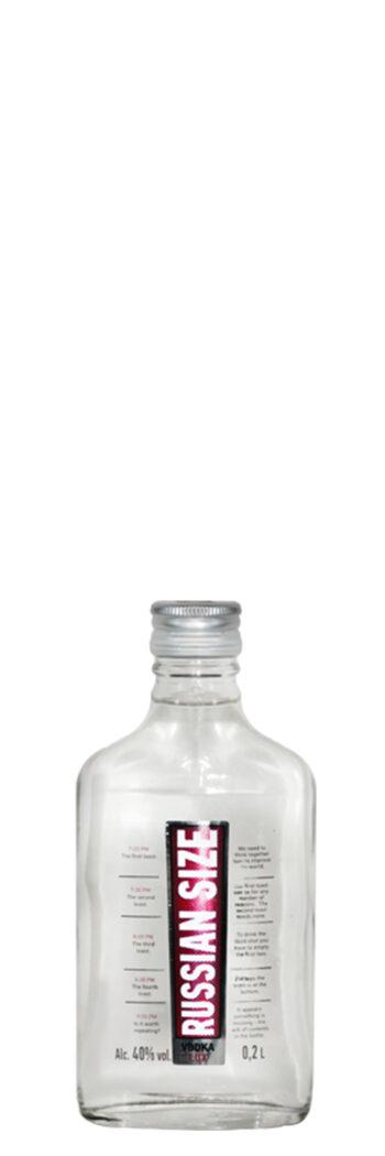 Russian Size Vodka Lux 20cl