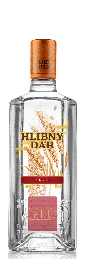 Hlibny Dar Classic Vodka 50cl