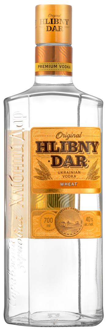 Hlibny Dar Wheat Vodka 70cl