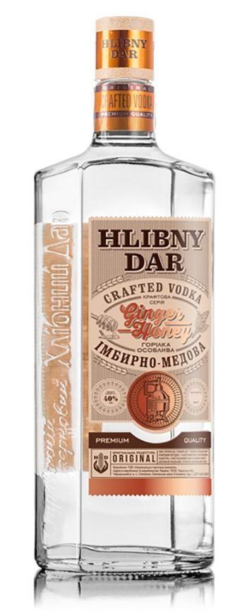 Hlibny Dar Crafted Ginger Honey Vodka 50cl