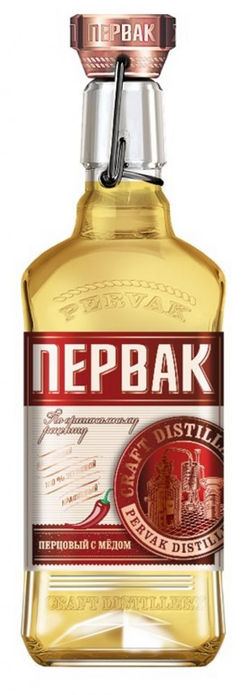 Pervak Pepper With Honey Vodka 50cl
