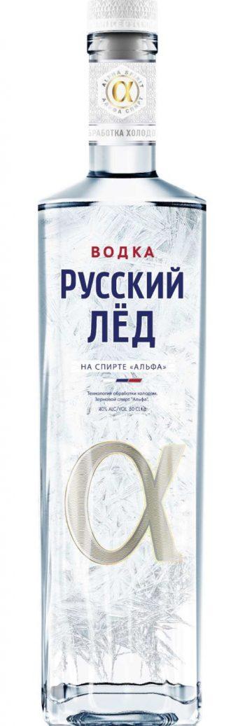 Russkii Ljod Vodka Alfa Spirit 50cl