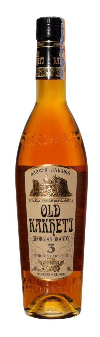 Old Kakheti 3 Year Brandy 50cl