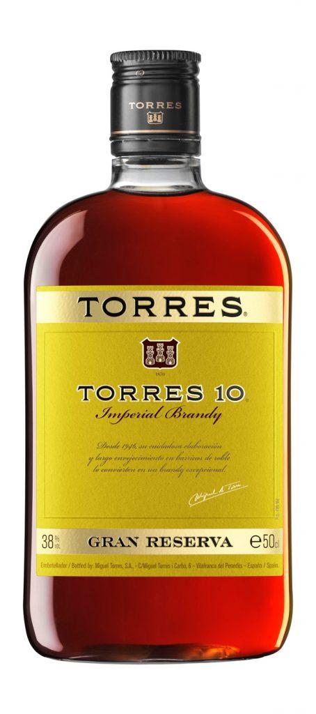 Torres 10 Brandy 50cl PET