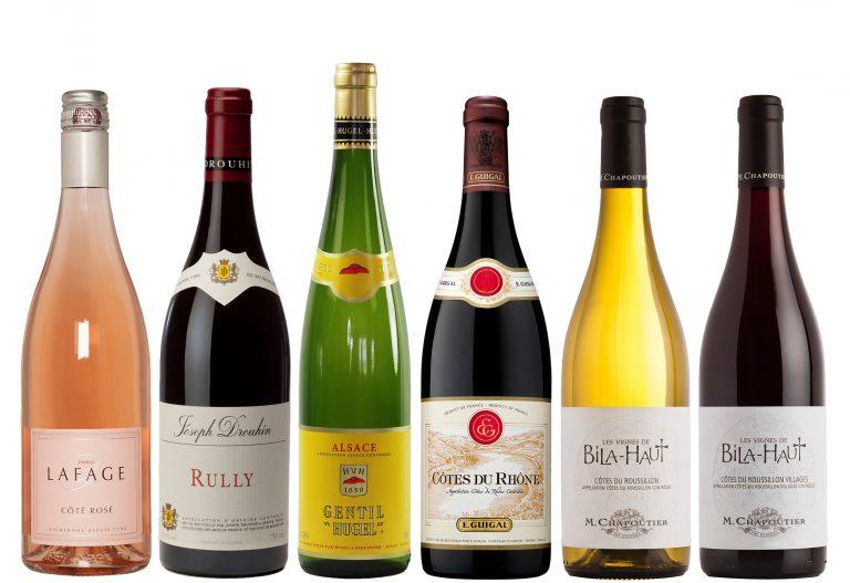 """Veinikast """" Prantsuse veinid"""""""