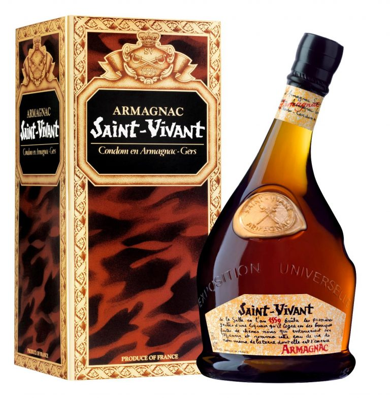 Saint-Vivant Armagnac VS 70cl giftbox