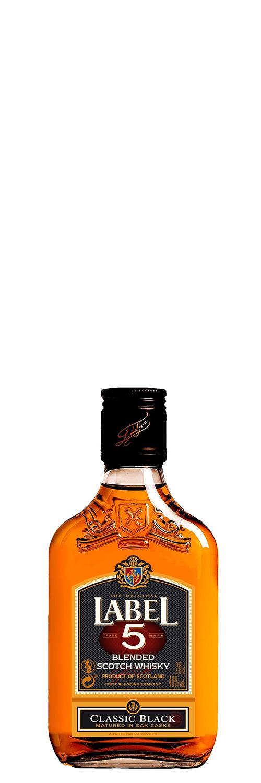Label 5 Classic Black Scotch Whisky 20cl