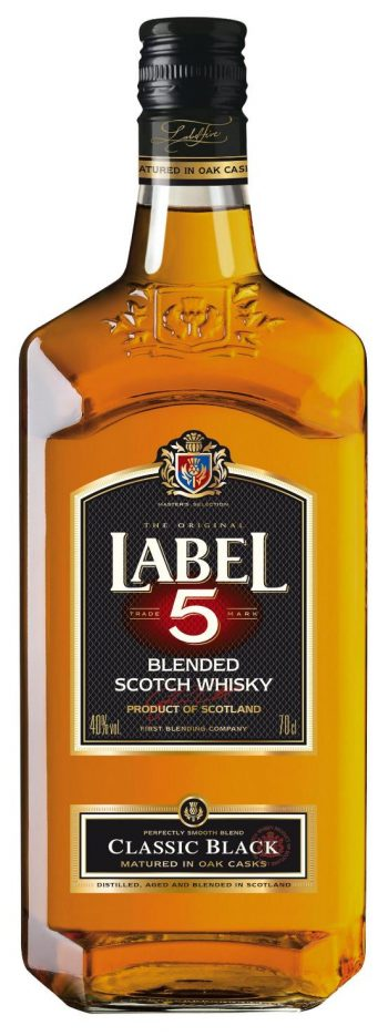 Label 5 Classic Black Scotch Whisky 70cl