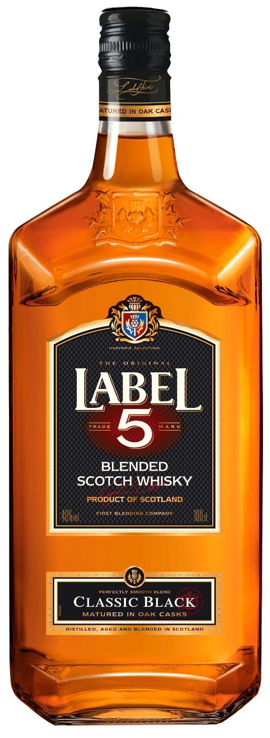 Label 5 Classic Black Scotch Whisky 100cl