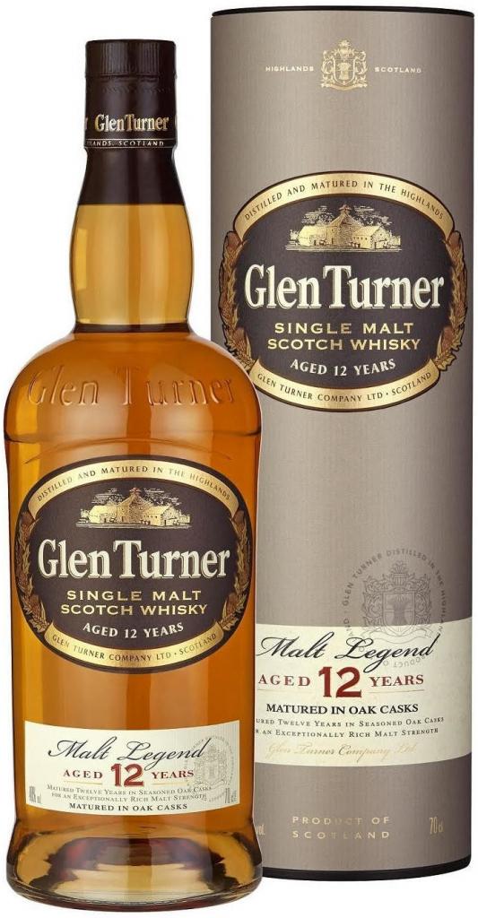Glen Turner 12 YO Single Malt