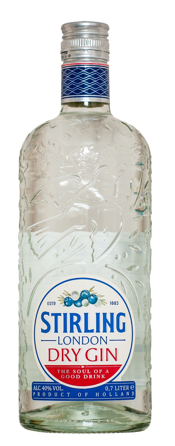 Stirling London Dry Gin 70cl 37.5%