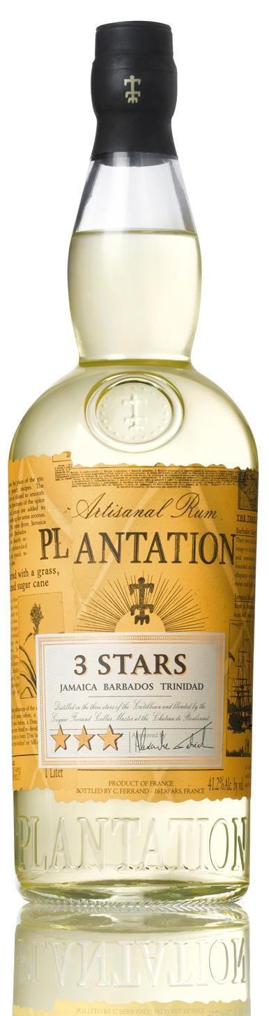 Plantation 3 Stars Artisanal Rum 100cl