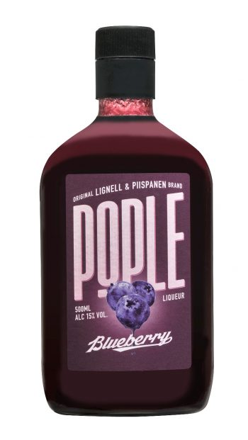 Pople Blueberry Liqueur 50cl PET