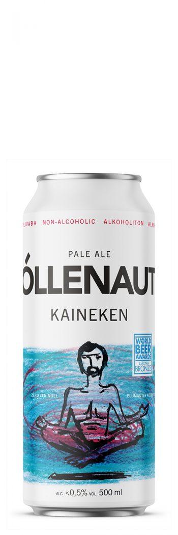 Õllenaut Kaineken Non-Alcoholic Pale Ale 50cl CAN